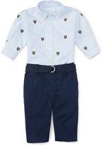 Ralph Lauren Cotton Oxford & Pant Set