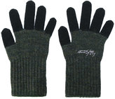 Yohji Yamamoto contrast gloves