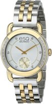 ESQ by Movado ESQ Movado Women's 07101463 Classica Analog Display Swiss Quartz Two Tone Watch