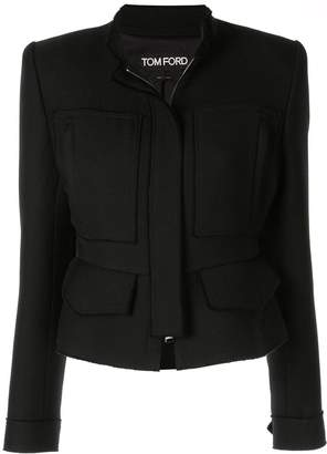 Tom Ford fitted zip-up jacket