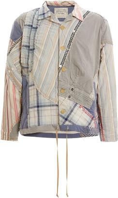 By Walid Jono Patchwork Cotton Jacket