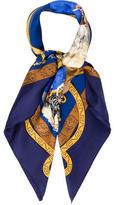 Hermes Charreada Silk Scarf
