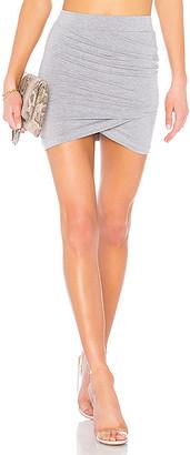 superdown Arden Ruched Mini Skirt