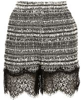 Faith Connexion Tweed Mini Skirt