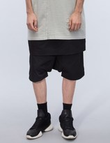 Rick Owens Pantaloni Kilt Pod Shorts