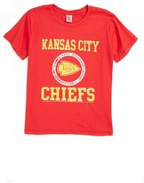 Junk Food Clothing Boy's Kick Off Kansas City Chiefs T-Shirt