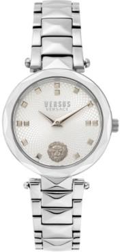 Versus By Versace Women's Covent Garden Petite Stainless Steel Bracelet Watch 32mm