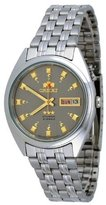 Orient #FEM0401NK Men's Tri Star Gray Dial Standard Self Winding Automatic Watch