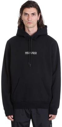 Marcelo Burlon County of Milan Double Face Sweatshirt In Black Cotton