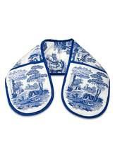 Spode Blue Italian Double Oven Glove