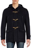 Nautica Long Sleeve Wool Blend Jacket