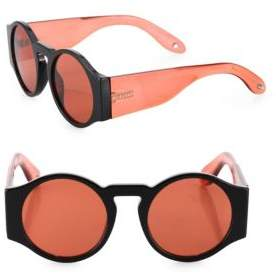 Givenchy 51MM Runway Round Sunglasses