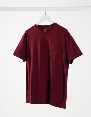 Polo Ralph Lauren classic fit t-shirt with pocket and pony logo