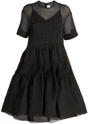 Victoria Victoria Beckham Tiered Midi Dress