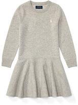 Ralph Lauren 2-6X Wool Drop-Waist Dress