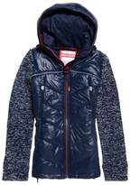 Superdry Classic Storm Padded Jacket with Fabric Sleves