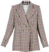 Etoile Isabel Marant janey Ecru Check Jacket