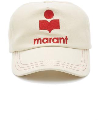 Isabel Marant Tyron Paneled Cotton Cap