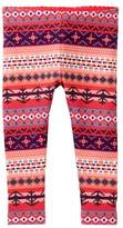 Tea Collection Fair Isle Stripe Leggings (Baby Girls)