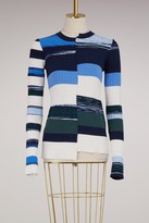 Opening Ceremony Cotton Space Dye sweater