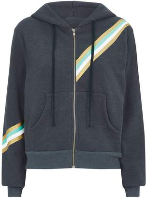 Wildfox Couture Graphic Zip-Up Hoodie