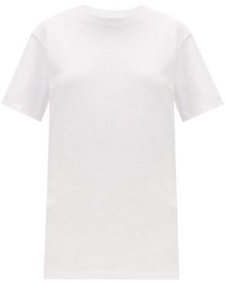 Hanes X Karla - X Karla The Classic Cotton Jersey T Shirt - Womens - White