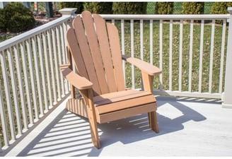 Adirondack Highland Dunes Horncastle Composite Wood Outdoor Chair Highland Dunes