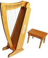 Schoenhut 15-String Harp with Bench