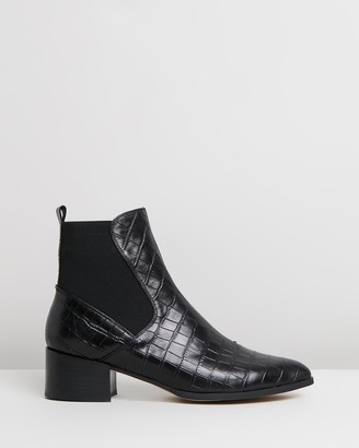 Mollini Darius Leather Ankle Boots