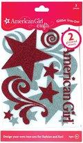 American Girl EK Success American Girl Logo Glitter Iron-Ons