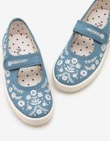 Boden Canvas Mary Janes