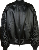Juun.J bomber jacket - men - Cotton/Polyester/Acetate - 48