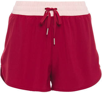 Iris & Ink Two-tone Stretch Shorts