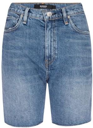 Hudson Hana Denim Biker Shorts