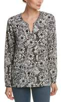 NYDJ Floral Tunic Top.