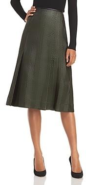 3.1 Phillip Lim Herringbone A-Line Skirt
