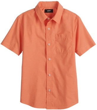 Urban Pipeline Boys 8-20 Button Front Shirt