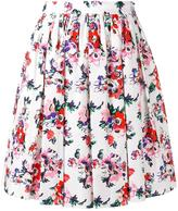 MSGM Gonna Fiore skirt - women - Cotton - 40