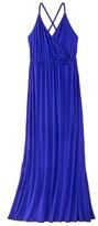 Mossimo Petites Sleeveless Crisscross-Back Maxi Dress - Assorted Colors