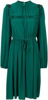 No.21 frill bib dress