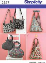 Simplicity Sewing Pattern 2357 Bags, One
