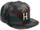HUF Metal H Camo Snapback Cap