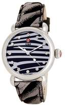 Michele Women's CXS Diamond Tiger Watch MWW03T000053