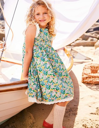 Nostalgic Smocked Dress