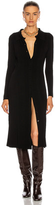 L'Agence Adley Long Sleeve Sweater Dress in Black | FWRD