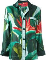 F.R.S For Restless Sleepers - Nemesi printed pyjama shirt - women - Silk - L