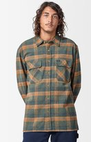 Brixton Archie Plaid Flannel Long Sleeve Button Up Shirt