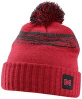 Nike Adult Ole Miss Rebels Striped Knit Beanie