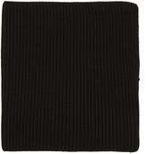 Hyke Black Wool Neck Warmer
