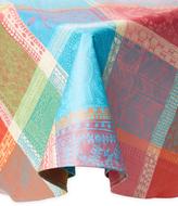 Garnier Thiebaut Mille Wax Round Tablecloth